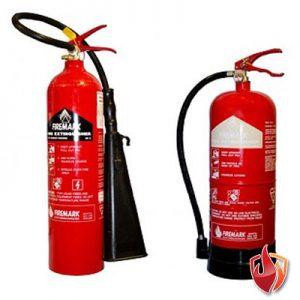 fire extinguishers supplied by alarmpro.co.uk in devon, uk